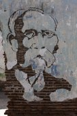 Street art in Camaguey - East Cuba — Stock Photo