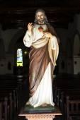 Statue of Jesus inside the la Merced church in Camaguey - Cuba — Stockfoto