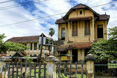 Center of Kampot - a rural town in Cambodia - Southeast Asia — Stock fotografie