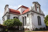 Wolvendaal Church - a Dutch Reformed Christian Colonial VOC Church in Colombo, Sri Lanka - Asia — Stock Photo
