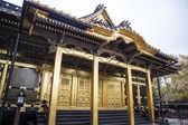 Toshogu Shrine in Ueno Park - Tokyo - Japan — Stock Photo
