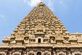 Brihadishwara Temple in Tanjore (Thanjavur) - Tamil Nadu - South India — Stock Photo