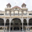 Facade of Maraja's Palace in Mysore, Karnataka - South India — Stock Photo #68172259