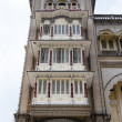 Facade of Maraja's Palace in Mysore, Karnataka - South India — Stock Photo #68172555