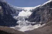 Dome Glacier And Snow Dome — Stock Photo