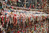 Dirty Gum Wall — Stock Photo