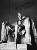 Estatua de Lincoln memorial — Foto de Stock
