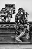 Stonemason Gargoyle on Bern Minster Cathedral — Stock Photo