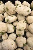 PIle Of Spud Potatoes — Stock Photo