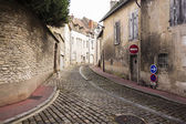 Village Street In France — Stock Photo