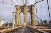 Brooklyn Bridge Tower — Stock Photo