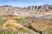 South Dakota Badlands Landscape — Stock Photo