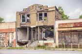 Urban Blight In Detroit — Stock Photo