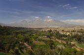 Pichu Pichu Arequipa — Stock Photo