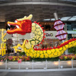 Chinese New Year Dragon Decoration in the New Bridge Road — Stock Photo #54767955