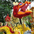 Chinese New Year Dragon Decoration in the New Bridge Road — Stock Photo #54767961
