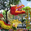 Chinese New Year Dragon Decoration in the New Bridge Road — Stock Photo #54767967