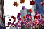 中華街中秋節 — ストック写真