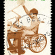 Australia stamp shows Rehabilitation — Stock Photo #56131011