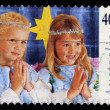 Australia stamp shows children — Stock Photo #56132195