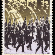 Australia stamp shows image of the anzac tradition — Stock Photo #59138065