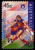 Australia shows Centenary of the AFL series — Stock Photo