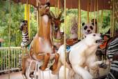 Карусель животных — Стоковое фото