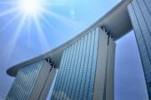 The Marina Bay Sands Resort Hotel — Stock Photo
