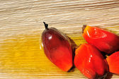 Palmolie vruchten — Stockfoto