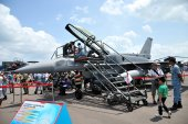 Singapore Airshow 2014 — Stockfoto