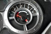 Motorcycle speedometer board — Stock Photo
