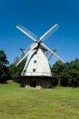 Beautiful windmill at Ventspils, Latvia — Stock Photo