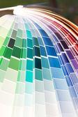 Designer color guide close-up — Stock Photo