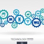 Technology mechanism concept — Stock Vector #53588447