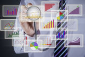 Financial analysis concept — Stock Photo