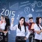 Teamwork make idea for resolutions — Stock Photo #54739475