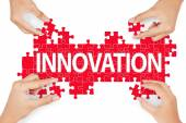 Making innovation for solution  — Foto de Stock
