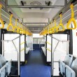 Interior of modern bus — Stockfoto #55334165