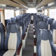 Row of seats in public bus — Stock Photo #55335441