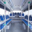 Seats of bus as public transportation — Stock Photo #55335769