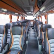 Seats of tourism bus — Stockfoto #55335789