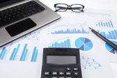 Concept of finance calculation — Stock Photo
