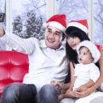 muž fotografoval jeho rodiny — Stock fotografie #58038415