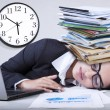Exhausted indian businesswoman overworked — Stock Photo #62510929