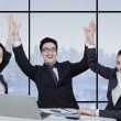 Group of successful multicultural business team — Stock Photo #62511807