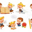Back to school — Stock Vector #61096269