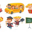 Back to school — Stock Vector #61096349