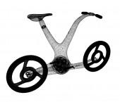 3d концепция современных велосипедов — Стоковое фото