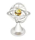 Terrestrial globe model  — Foto Stock