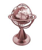 Terrestrial globe model  — Стоковое фото